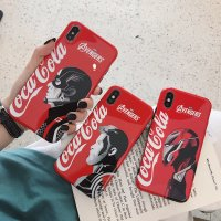 Cocacola & Marvel アベンジャーズ IPHONE X XS XR XSMAX 6S 7 8 PLUS ケース